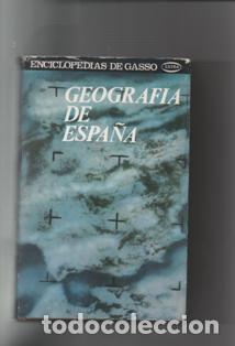 GEOGRAFÍA DE ESPAÑA. VARIOS AUTORES. (Libros de Segunda Mano - Geografía y Viajes)