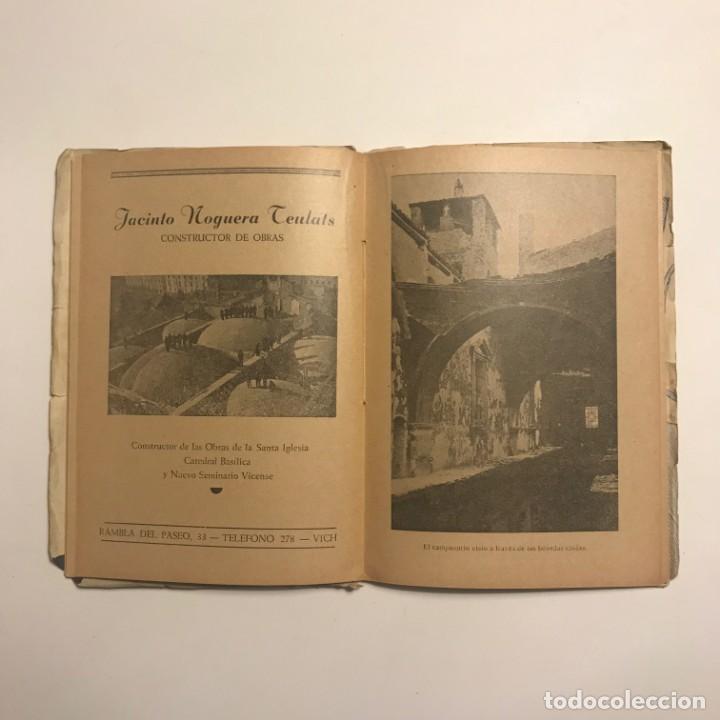 Libros de segunda mano: Vich La catedral y su decoración POR Eduardo Junyent. TIP. BALSMESIANA, 1944 - Foto 2 - 148379094