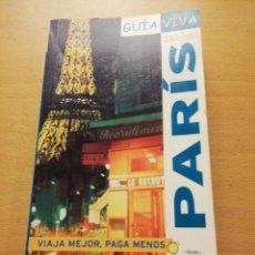Libros de segunda mano: PARÍS. GUÍA VIVA 2006 - 2007 (ANAYA TOURING CLUB). Lote 149252390