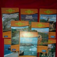 Libros de segunda mano: LOTE GUÍAS DE VIAJE ABC COLECCIÓN FIN DE SEMANA 9 GUIAS NUEVO ED. ANAYA 2001. Lote 150193138