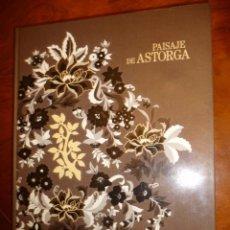 Libros de segunda mano: PAISAJE DE ASTORGA.1994, MANUEL GARCIA-MARTIN. CARTON 32X24, 380PP. Lote 150225530