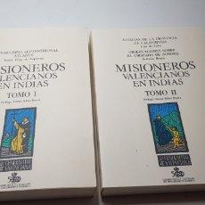 Libros de segunda mano: MISIONEROS VALENCIANOS EN INDIAS.. Lote 150228922