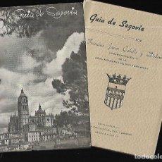 Libros de segunda mano: GUIA DE SEGOVIA ( 1949 ). Lote 150272658