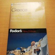Libros de segunda mano: GREECE (FODOR'S, 5TH EDITION). Lote 150569602