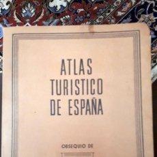 Libri di seconda mano: ATLAS TURÍSTICO DE ESPAÑA LABORATORIOS WASSERMANN. Lote 150620862