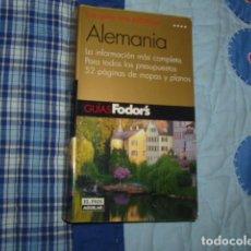 Libros de segunda mano: ALEMANIA , GUIAS FODOR'S , EL PAIS AGUILAR. Lote 151013706