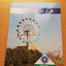Libros de segunda mano: GUIA DE LA RUTA DELS MOLINS DE CAMPOS. Lote 151170086