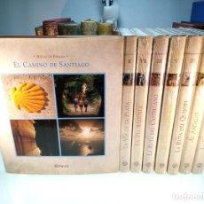 Libros de segunda mano: GRAN COLECCIÓN RUTAS DE ESPAÑA - 8 TOMOS - PLANETA - A ESTRENAR, 7 TOMOS PRECINTADOS - 2006 - . Lote 151385090
