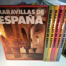 Libros de segunda mano: MARAVILLAS DE ESPAÑA - 6 TOMOS GRAN FORMATO - EDICIONES RAYUELA - VALENCIA - 1990 -NUEVOS A ESTRENAR. Lote 151388974
