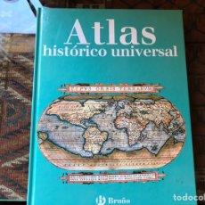 Libros de segunda mano: ATLAS HISTÓRICO UNIVERSAL. BRUÑO. COMO NUEVO. Lote 151570825