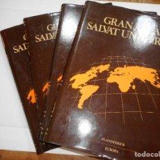 Libros de segunda mano: GRAN ATLÁS SALVAT UNIVERSAL (4 TOMOS) Y92547. Lote 151728950