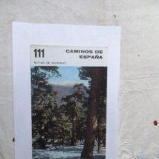 Libros de segunda mano: CAMINOS DE ESPAÑA RUTAS DE INVIERNO NUMERO 111. Lote 152562990