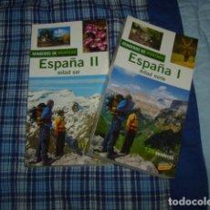 Libros de segunda mano - SENDEROS DE MONTAÑA ESPAÑA 2 TOMOS MITAD SUR Y MITAD NORTE - 153129706