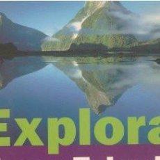 Libros de segunda mano: EXPLORA NUEVA ZELANDA - HANNA, NICK 2000. Lote 153175270