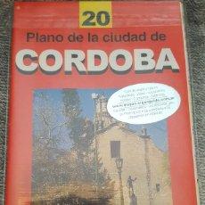 Libros de segunda mano: PLANO DE LA CIUDAD DE CÓRDOBA, ARGENTINA. MAPAS ARGENGUIDE. GUÍA DE VIAJES Y TURISMO. Lote 153276538
