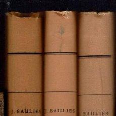 Libros de segunda mano: L'ILLA DE MENORCA, POR JORGE BAULIES CORTAL.3 TOMOS. AÑOS 1964/5/7. (MENORCA 1.1). Lote 153512242