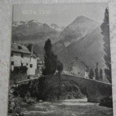 Livres d'occasion: CAMINOS DE ESPAÑA PIRINEO ARAGONES-II. RUTA LVIII. . Lote 154046802