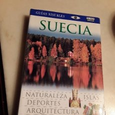 Libros de segunda mano: SUECIA. GUIAS VISUALES DE EL PAÍS AGUILAR, 2006. EXCELENTE ESTADO.. Lote 154200286