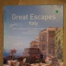 Libros de segunda mano: GREAT ESCAPES ITALY (TASCHEN) PRECINTADO. Lote 154293230