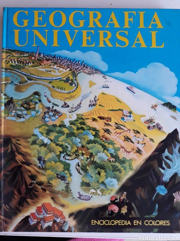 GEOGRAFÍA UNIVERSAL (Libros de Segunda Mano - Geografía y Viajes)