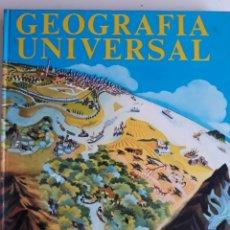 Libros de segunda mano: GEOGRAFÍA UNIVERSAL. Lote 154946632