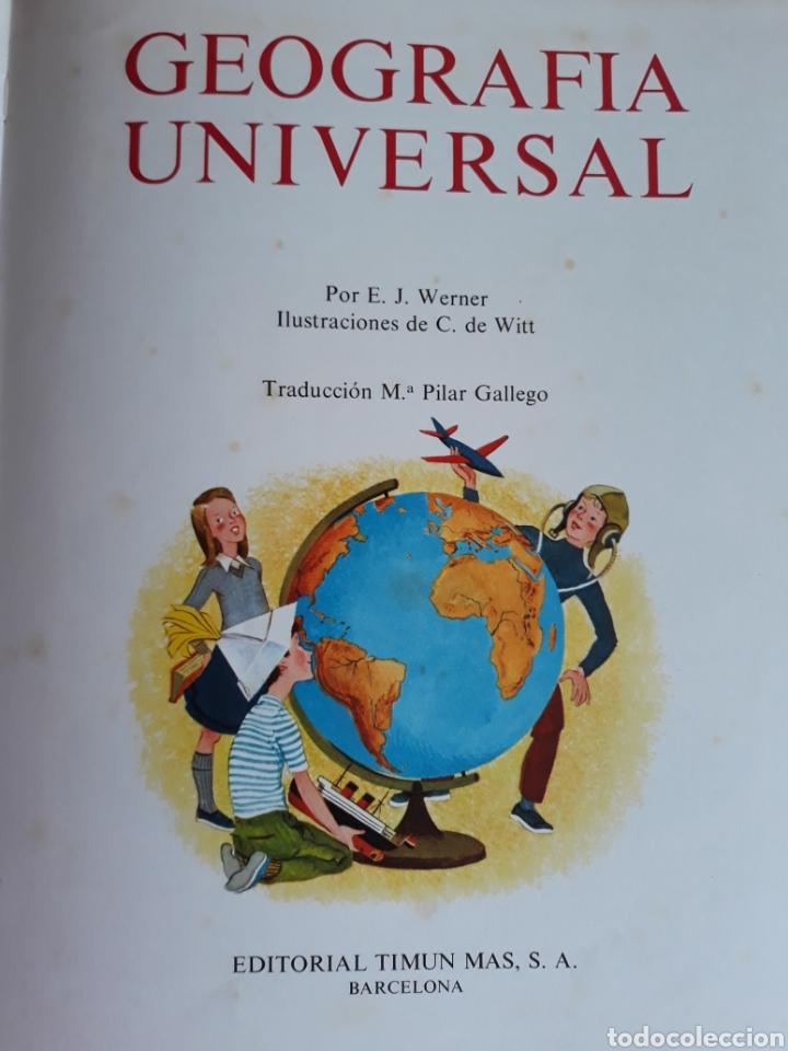 Libros de segunda mano: GEOGRAFÍA UNIVERSAL - Foto 2 - 154946632