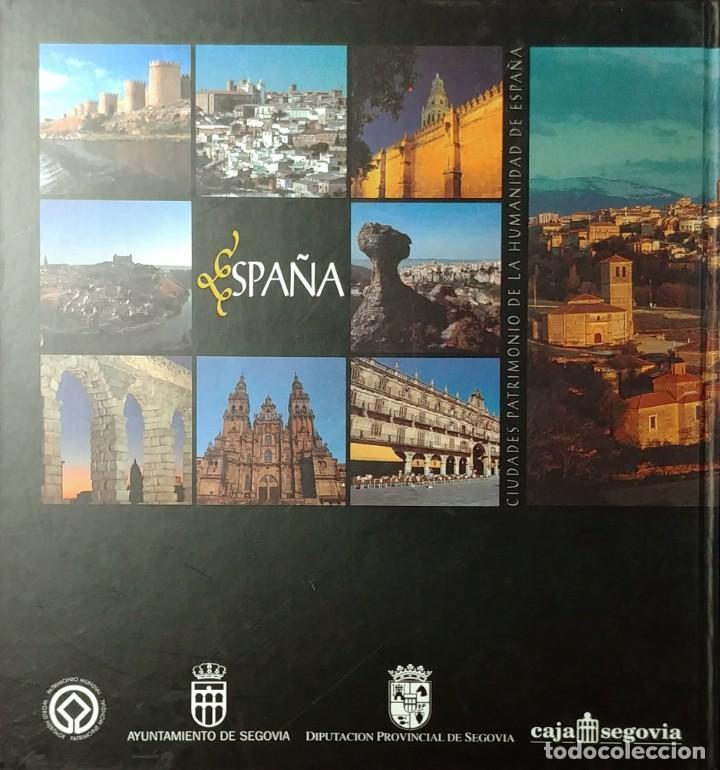 Libros de segunda mano: SEGOVIA, CIUDAD PATRIMONIO DE LA HUMANIDAD DE ESPAÑA / MANUEL TOHARIA, ETC. ARTEC, 2007. CON TARJETA - Foto 10 - 155250330