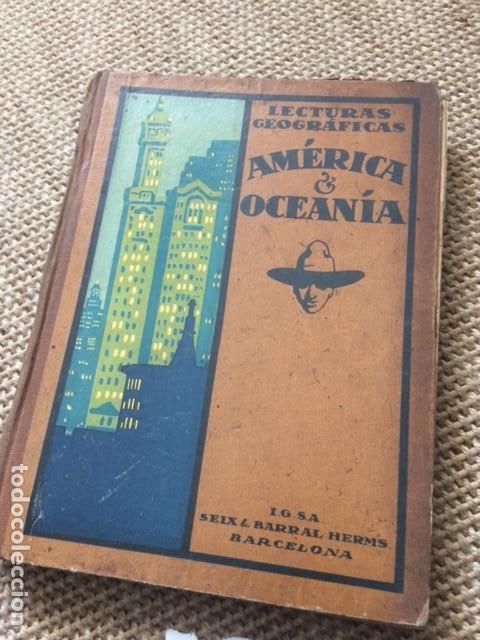 LECTURAS GEOGRÁFICAS, AMÉRICA Y OCEANÍA (Libros de Segunda Mano - Geografía y Viajes)