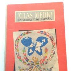 Libros de segunda mano: LIBRO ATLAS MEDIO, AGUILAR, 1957. Lote 155519130