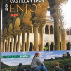 Libros de segunda mano: LIBRO ILUSTRADO. CASTILLA Y LEON. ENJOY. 2009/10. JUNTA DE CASTILLA Y LEON. 230 PAGS.. Lote 155926130