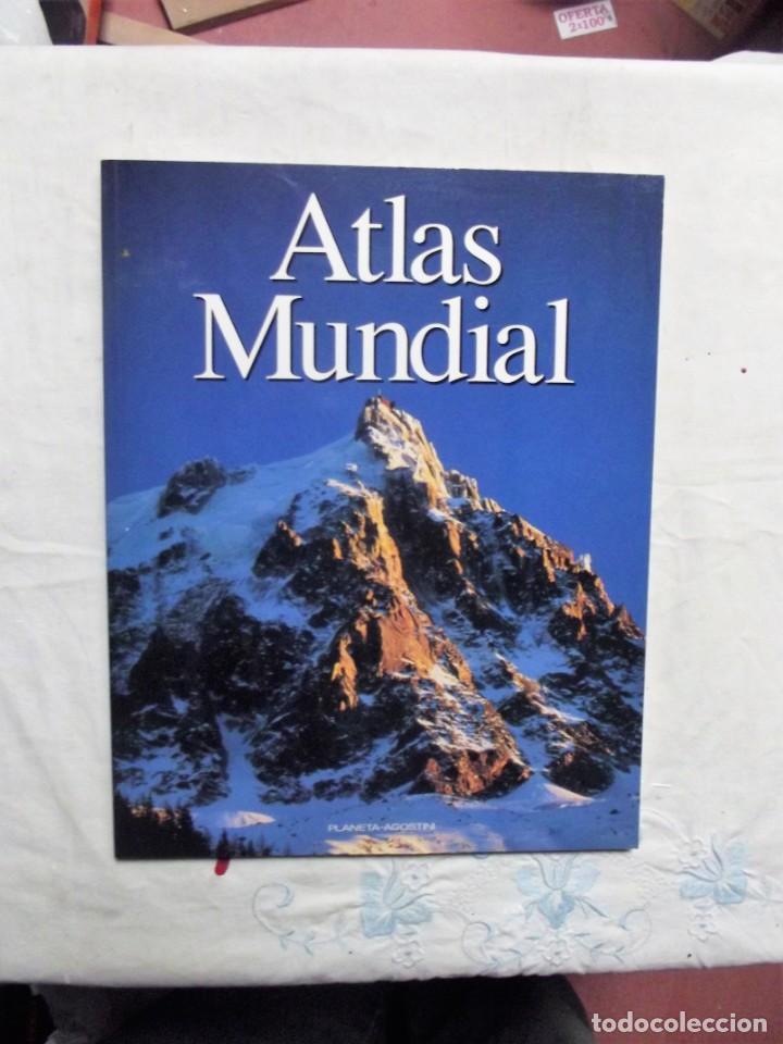 ATLAS MUNDIAL PLANETA - AGOSTINI (Libros de Segunda Mano - Geografía y Viajes)
