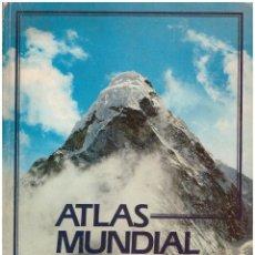 Libros de segunda mano: ATLAS MUNDIAL BASICO - PLANETA-AGOSTINI; AÑO 1984. Lote 156921982