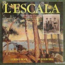 Libros de segunda mano: L'ESCALA IMATGES PER A UN SOMNI, IMÁGENES PARA UN SUEÑO, IMAGES POUR UN REVE, IMAGES FOR A DREAM / L. Lote 156937858