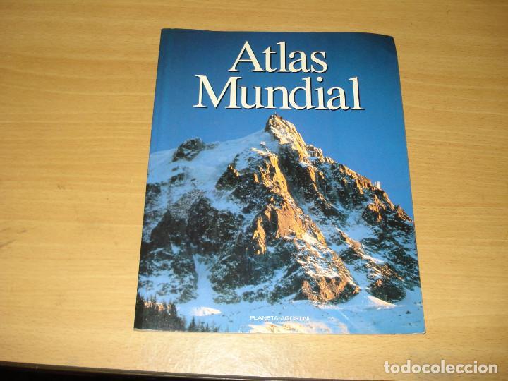ATLAS MUNDIAL ED. PLANETA-AGOSTINI. AÑO 1993 (Libros de Segunda Mano - Geografía y Viajes)