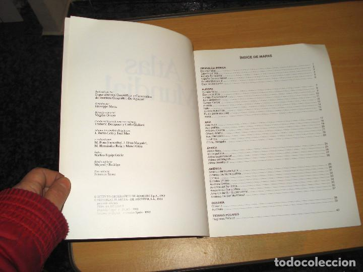 Libros de segunda mano: ATLAS MUNDIAL ED. PLANETA-AGOSTINI. AÑO 1993 - Foto 2 - 157006078