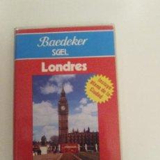 Libros de segunda mano: LONDRES COMPLETA GUIA DE VIAJE ILUSTRADA 202 PAGINAS BUEN ESTADO MAPA METRO. Lote 157300102