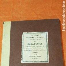 Libros de segunda mano: VOYAGE PITTORESQUE DE CATALOGNE.ALEXANDRE DE LABOBORDE.GRAN FORMATO.FAXIMIL 1973.. Lote 157349944