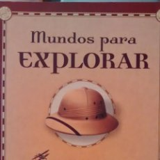 Libros de segunda mano: MUNDOS PARA EXPLORAR DE MARK JENKINS (EDITOR) (RBA). Lote 158157950