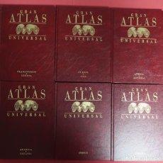 Libros de segunda mano: ATLAS UNIVERSAL SALVAT. 6 TOMOS. Lote 158169666