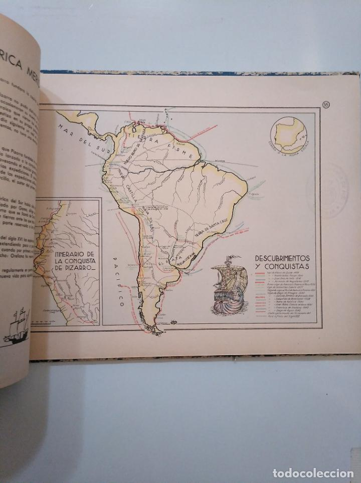Libros de segunda mano: ATLAS HISTÓRICO ESPAÑOL. GONZALO MENÉNDEZ PIDAL. EDITORA NACIONAL 1941. TDK376 - Foto 3 - 158358578