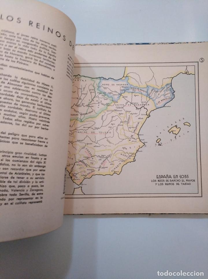 Libros de segunda mano: ATLAS HISTÓRICO ESPAÑOL. GONZALO MENÉNDEZ PIDAL. EDITORA NACIONAL 1941. TDK376 - Foto 5 - 158358578