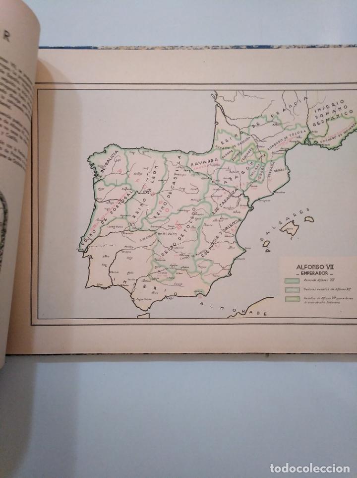 Libros de segunda mano: ATLAS HISTÓRICO ESPAÑOL. GONZALO MENÉNDEZ PIDAL. EDITORA NACIONAL 1941. TDK376 - Foto 6 - 158358578