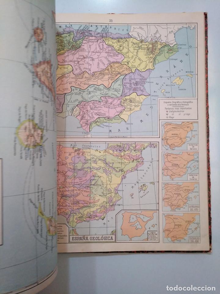 Libros de segunda mano: ATLAS DE GEOGRAFÍA UNIVERSAL - SALVADOR SALINAS BELLVER - AÑO 1960. 33 EDICION. TDK376 - Foto 2 - 158361230