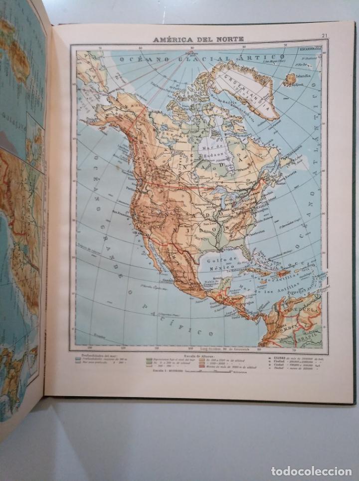 Libros de segunda mano: ATLAS DE GEOGRAFÍA UNIVERSAL - SALVADOR SALINAS BELLVER - AÑO 1960. 33 EDICION. TDK376 - Foto 3 - 158361230