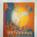 Libros de segunda mano: ATLAS UNIVERSAL Y DE ESPAÑA. EDITORIAL LUIS VIVES. ZARAGOZA. AÑOS 40. TDKLT. Lote 158361610