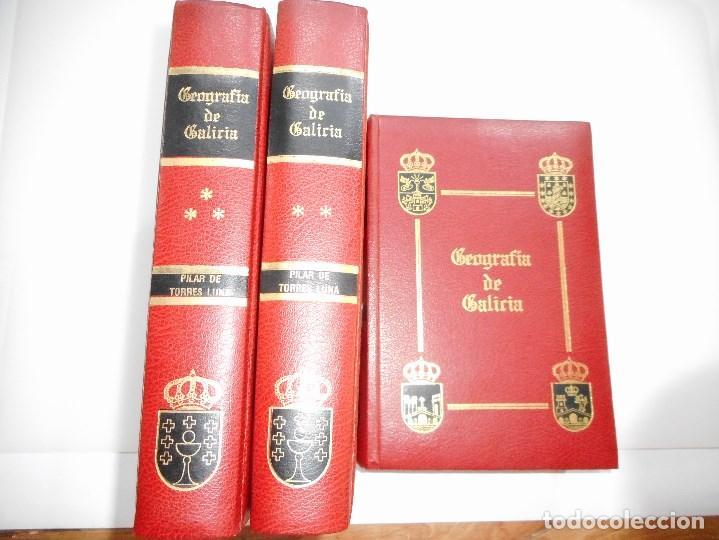 Mª PILAR TORRES LUNA GEOGRAFÍA DE GALICIA(3 TOMOS) Y93387 (Libros de Segunda Mano - Geografía y Viajes)