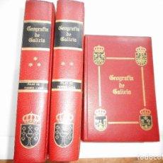 Libros de segunda mano: Mª PILAR TORRES LUNA GEOGRAFÍA DE GALICIA(3 TOMOS) Y93387 . Lote 158528142