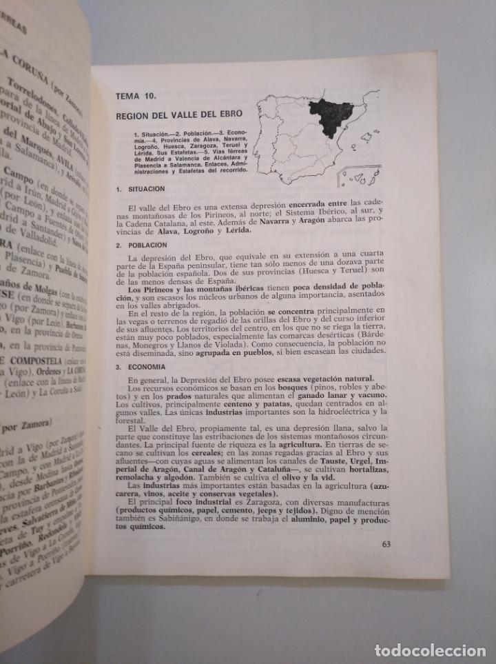 Libros de segunda mano: GEOGRAFIA POSTAL. CUERPO AUXILIAR DE CORREOS. 1968. TDK379 - Foto 2 - 158683010