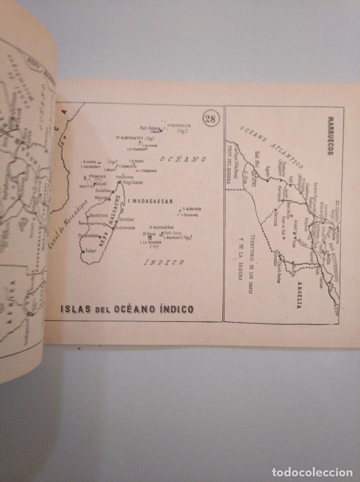 Libros de segunda mano: Atlas geográfico universal. JOSÉ BERMEJO. ANTONIO VILLARROYA. TDK380 - Foto 4 - 158718366
