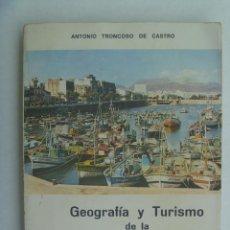 Libros de segunda mano: GEOGRAFIA Y TURISMO DE LA II REGION MILITAR, DE ANTONIO TRONCOSO. RECREO EDUCATIVO DEL SOLDADO, 1978. Lote 246135525